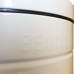 BENTLEY HOME RETRO CREAM KITCHEN PEDAL BIN