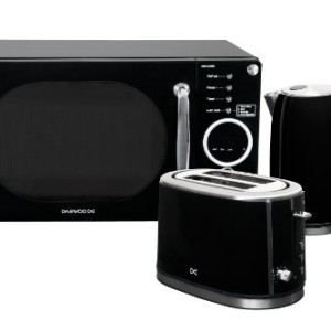 Daewoo KOR6N9RB Black Touch Control Microwave