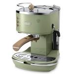 De'Longhi Vintage Icona Espresso & Cappuccino Machine - Olive Green
