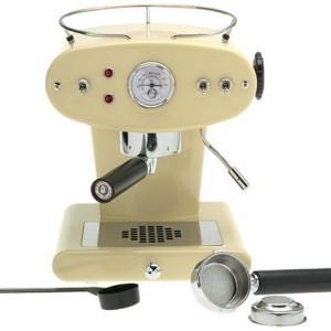 Francis Francis X1 Cream Ground Coffee Machine