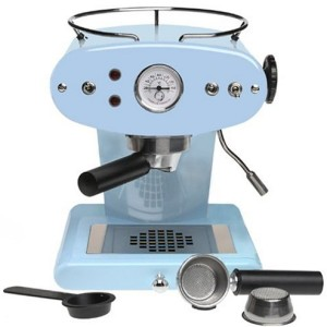 Francis Francis for Illy X1 Duck Egg Blue Ground Coffee Machine