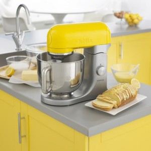 Kenwood kMix KMX98 Yellow Stand Mixer