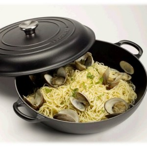 Le Creuset Cast Iron Shallow Casserole 30 cm Satin Black