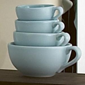 Nigella Lawson Duck Egg Blue Measuring Cup Set x 4