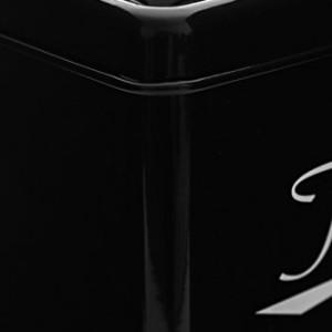 Premier-Housewares-5-Piece-Enamel-Storage-Set-Black-White-0-1