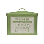 Premier Housewares Whitby Olive Green Bread Bin