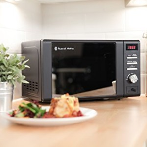 Russell Hobbs RHM2064MB Matt Black Digital Microwave