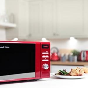 Russell Hobbs RHM2064R Red Digital Microwave