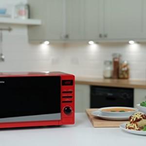 Russell Hobbs Rosso Red Digital Microwave - 800 Watt
