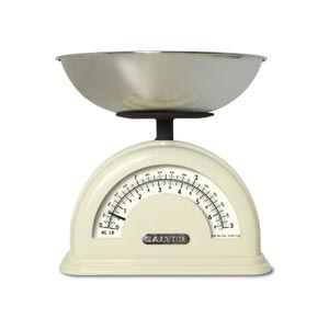 Salter Vintage Style Mechanical Scale in Cream