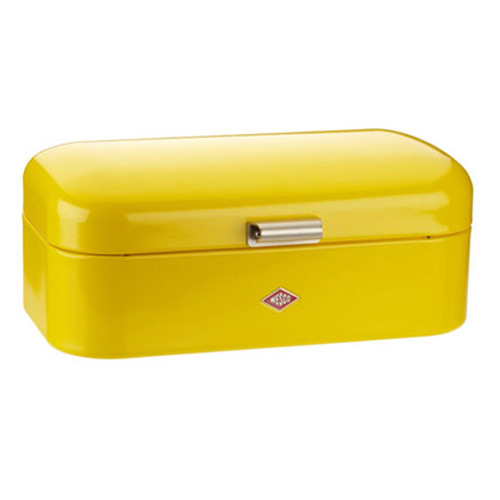 Wesco Grandy Bread Bin - Lemon Yellow