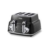 Delonghi Black Scultura Toaster