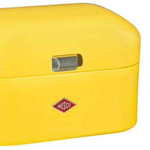Wesco Single Grandy Bread Bin Lemon Yellow