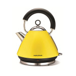 Morphy Richards 43827 Yellow Accents Kettle, 1.5 Litre