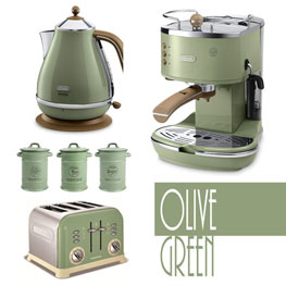 Olive Green Kitchen Accessories