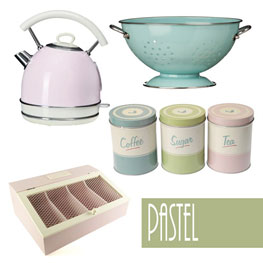 Amazing Pastel Kitchen Accessories