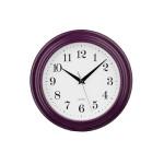 Premier Housewares Purple Vintage Wall Clock