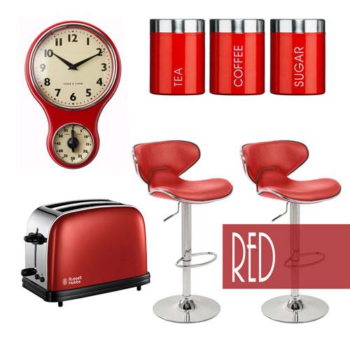 28 Kitchen Accessories In Red 11 Kitchen Decors