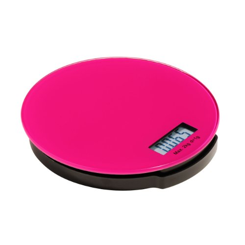 Premier Housewares Electronic Kitchen Scale Hot Pink