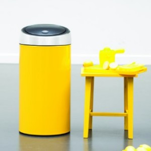 Brabantia-Touch-Bin-Deluxe-45-Litre-Lemon-Yellow-0-0