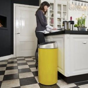 Brabantia-Touch-Bin-Deluxe-45-Litre-Lemon-Yellow-0-1