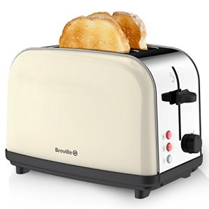 Breville Pick and Mix 2 Slice Toaster Cream