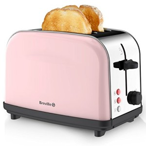 Breville Pick and Mix 2 Slice Toaster Pink