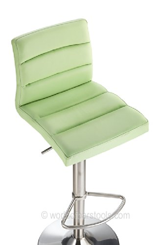 Deluxe-Brushed-Bar-Stool-Green-0-2