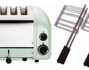 Dualit 4 Slot Toaster Mint Green