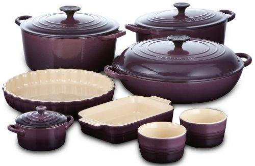 Le Creuset Stoneware Butter Dish Cassis Purple