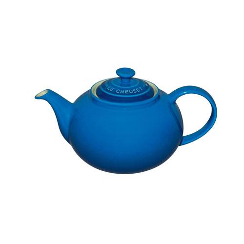Le Creuset 1.3 L Stoneware Classic Teapot - Marseille Blue