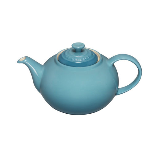 Le Creuset 1.3 L Stoneware Classic Teapot - Teal