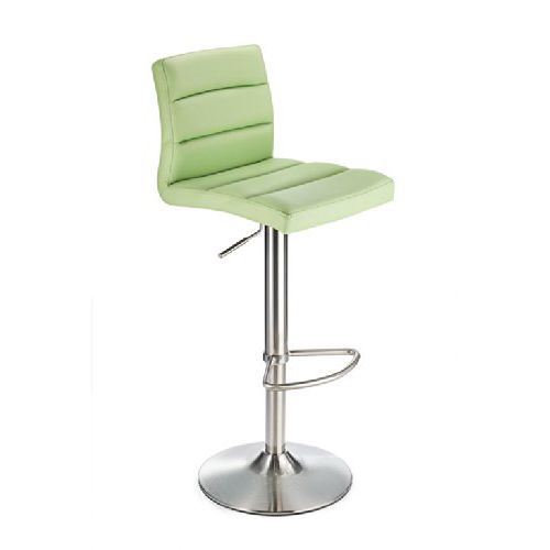 Mint Green Deluxe Brushed Kitchen Bar Stool