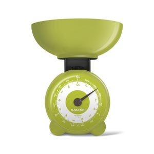 Salter Orb Mechanical Scale Olive Green