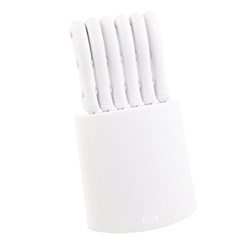 Panorama Gifts 7 piece Steak Knife Set White