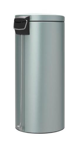Brabantia 30 Litre Silent Pedal Bin Metallic Mint