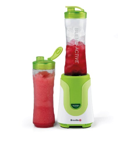 Breville Blend-Active Personal Blender 300 Watt White/Green