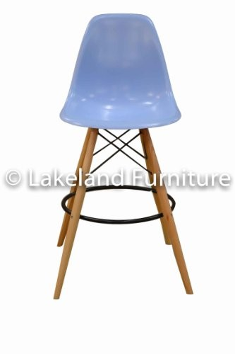 Vissanta Charles Eames DSW Bar Stool Duck Egg Blue