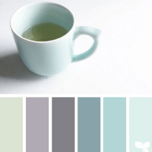 Duck Egg Blue Kitchen Colour Scheme