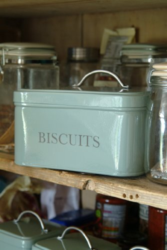 Garden-Trading-1-Piece-Powder-Coated-Steel-Garden-Trading-Square-Biscuit-Tin-in-Shutter-Blue-0-0