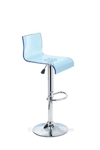 Costantino Glitz Bar Stool Blue