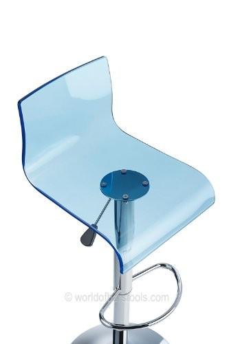 Costantino Glitz Bar Stool Blue