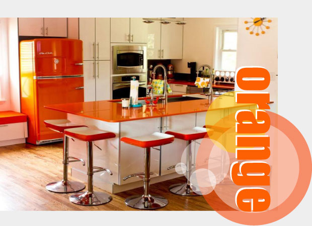 Delicieux Orange Kitchen Accessories