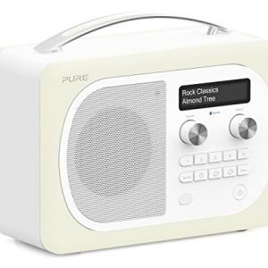 Pure Evoke D4 Mio DAB Digital/FM Radio Almond Cream