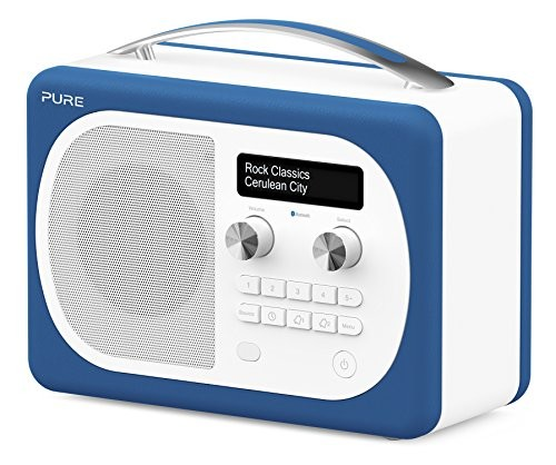 Pure Evoke D4 Mio DAB Digital/FM Radio Blue
