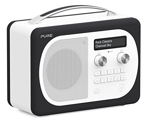 Pure Evoke D4 Mio DAB Digital/FM Radio Black