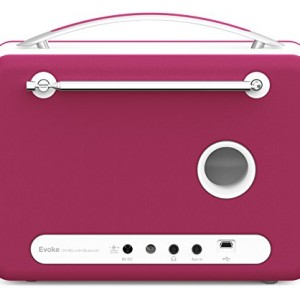 Pure Evoke D4 Mio DAB Digital/FM Radio Raspberry Pink
