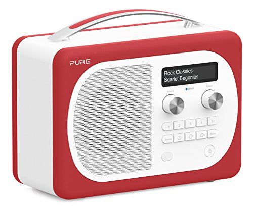 Pure Evoke D4 Mio DAB Digital/FM Radio Red