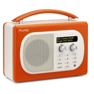 Pure Evoke D4 Mio DAB Digital/FM Radio Orange