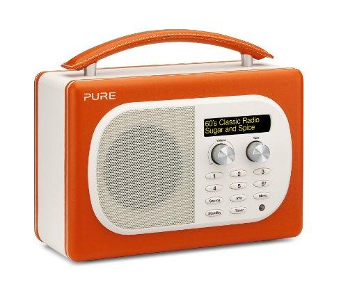 Pure Evoke D4 Mio DAB Digital/FM Radio Orange